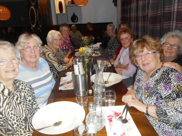 January 2016 lunch at The Bell, Hillmorton