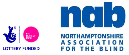 Northamptonshire Association for the Blind logo